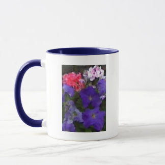 Petunias and Geraniums Mug