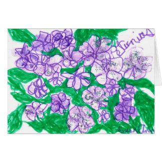 Petunias Card