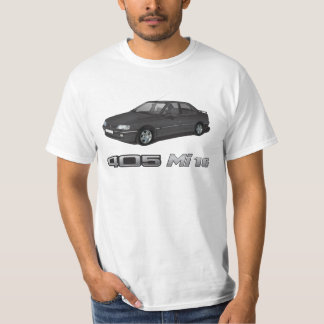 Peugeot 405 with Mi 16 metallic badge, black DIY T-Shirt