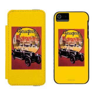 Peugeot Automobile Promotional Poster Incipio Watson™ iPhone 5 Wallet Case