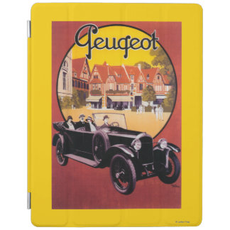 Peugeot Automobile Promotional Poster iPad Cover