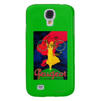 Peugeot Bicycle Vintage PosterEurope Galaxy S4 Case