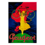 Peugeot Bicycle Vintage PosterEurope Poster