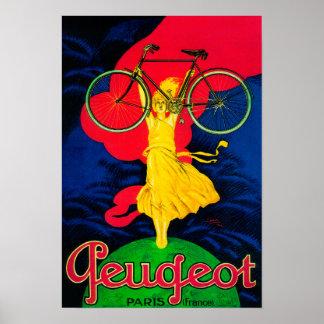 Peugeot Bicycle Vintage PosterEurope Poster