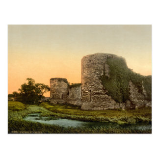Pevensey Castle, East Sussex, England Postcard