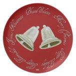 Pewter Bells Seasonal plate