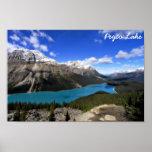 Peyto Lake, Banff National Park, Canadian Rockies Poster