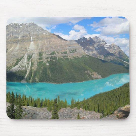 Peyto Lake in Banff National Park Mouse Mat