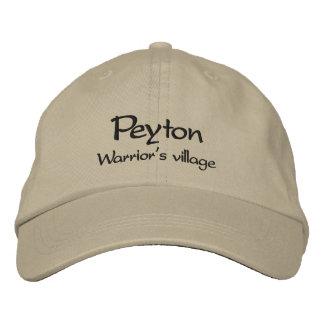 Peyton / Warrior's Village Embroidered Cap