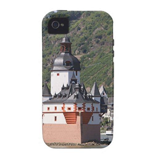 Pfalzgrafstein Castle, Rhine River, Germany 1 iPhone 4 Cover