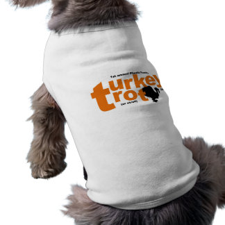 Pfautz Family Turkey Trot 2010 Canine Version Sleeveless Dog Shirt