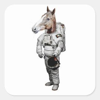 Pferd Astronaut Sticker