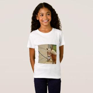 Pferdeportrai - Girls' Fine jersey T-shirt