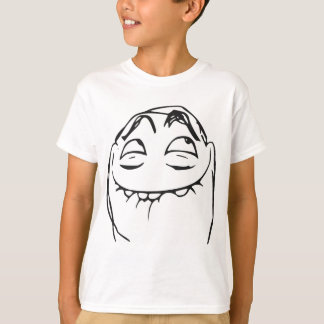 PFFTCH Laughing Rage Face Comic Meme T-Shirt