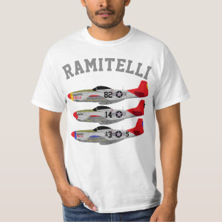Pfive1 Ramitelli P-51 Mustangs T-Shirt