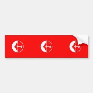 Pflp, Colombia Political flag Bumper Sticker