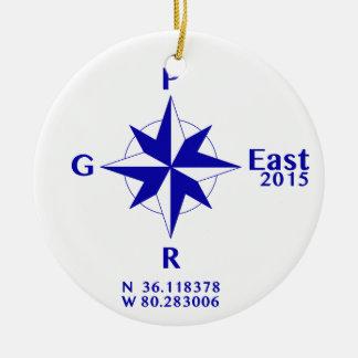 PGR East 2015 sun catcher Christmas Ornament