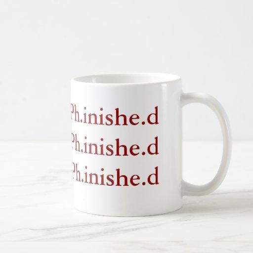 Ph.D. Completion Mug