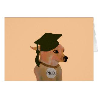 Ph.D. Grad Card