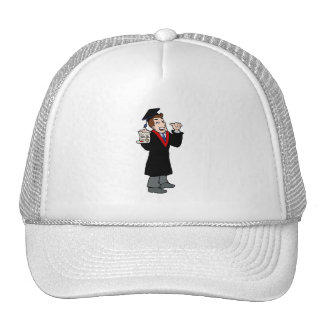 Ph D Graduate Trucker Hats