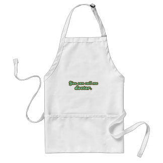 Ph.D. & Med School Graduation Gifts Standard Apron