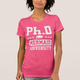Ph.D Mermaid University T-Shirt