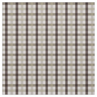 PH&D Small Check Fabric Taupe