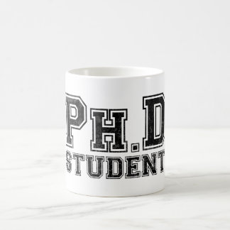 Ph.D Student Basic White Mug