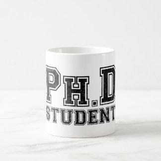 Ph.D Student Basic White Mug