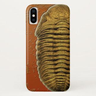 Phacops Rana Crassituberculata  Fossil Trilobite iPhone X Case