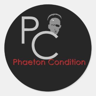 Phaeton Condition 3 Inch Round Sticker