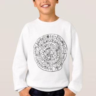 Phaistos disk sweatshirt