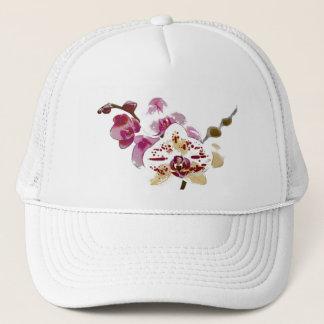 Phalaenopsis Orchid Flower Bouquet Trucker Hat