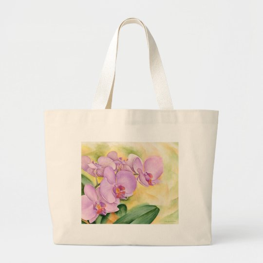 Phalaenopsis Orchid Flowers - Multi Large Tote Bag