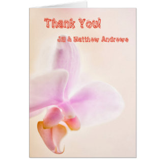Phalaenopsis Orchid Glad Dawn 'Pink Cheer' Card