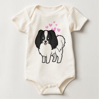 Phalene / Japanese Chin Love Baby Bodysuit