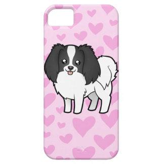 Phalene / Japanese Chin Love Case For The iPhone 5