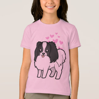 Phalene / Japanese Chin Love T-Shirt