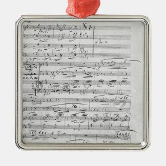 Phantasiestucke, Opus, for piano Christmas Ornament