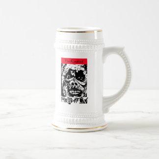Phantom Beer stein by  Von Knoblock Mug