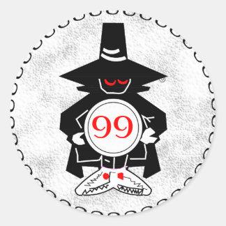 Phantom - Counter Round Sticker
