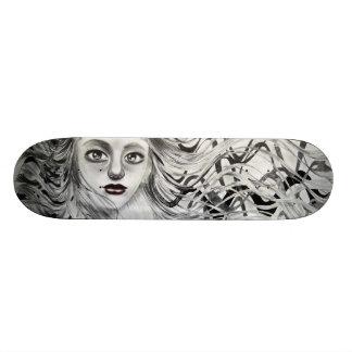 Phantom Girl Drawing 20 Cm Skateboard Deck