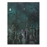 Phantom Graveyard Postcard
