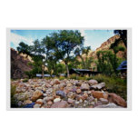 Phantom Ranch - Grand Canyon National Park Poster