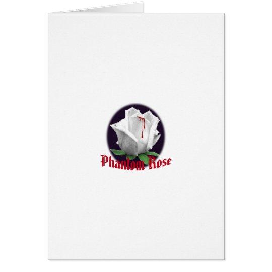 Phantom Rose Notecards Card