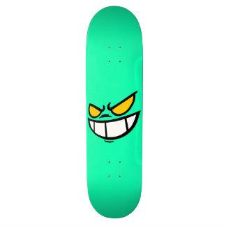 Phantom Smile™ Aqua Green Skateboard Deck