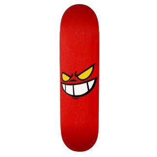 Phantom Smile™ Bold Red Skateboard Deck