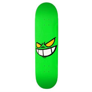 Phantom Smile™ Bright Green Skateboard Deck