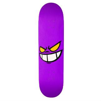 Phantom Smile™ Bright Purple Skateboard Deck