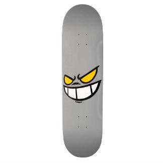 Phantom Smile™ Grey Skateboard Deck